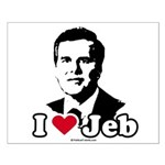 I Love Jeb Small Poster