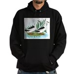 Magpie Drake and Duck Hoodie (dark)