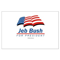 Jeb Bush for President Large Poster
