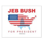 Jeb Bush for President Small Poster
