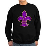 FLEUR DE LI Sweatshirt (dark)