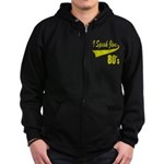 I SPEAK JIVE Zip Hoodie (dark)