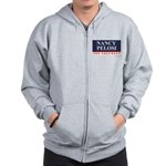 Nancy Pelosi for President Zip Hoodie