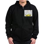 Chinese Goose and Gander Zip Hoodie (dark)