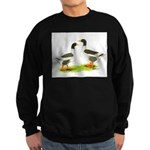 Pomeranian Geese Sweatshirt (dark)
