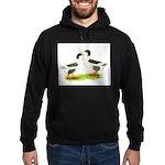 Pomeranian Geese Hoodie (dark)