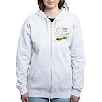 Roman Tufted Geese Women's Zip Hoodie