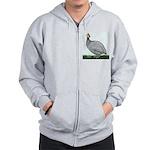 Lavendar Guinea Zip Hoodie