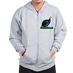 Royal Purple Guineafowl Zip Hoodie
