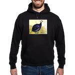 Royal Purple Guineafowl Hoodie (dark)