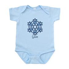 Blue Snowflake Infant Bodysuit