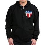 Cheney Zip Hoodie (dark)