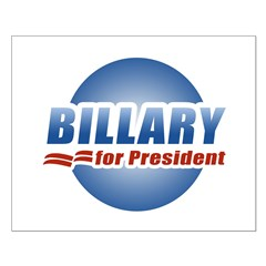 Billary for President Posters