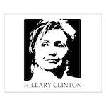 Hillary Clinton Small Poster