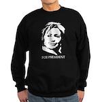 Hillary Clinton Sweatshirt (dark)