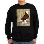 Red Bald West Sweatshirt (dark)