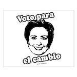 Hillary: Voto para el cambio Small Poster