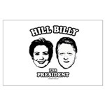Hill Billy for President Large Poster