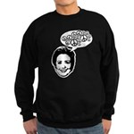 Hillary 2008 for peace Sweatshirt (dark)