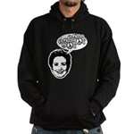 Hillary 2008 for peace Hoodie (dark)