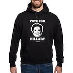Vote for Hillary Hoodie (dark)