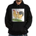 Blue-tail Buff Pair Hoodie (dark)