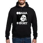Obama 2008: Obama O eight Hoodie (dark)