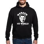 Barack my world Hoodie (dark)