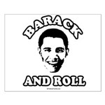 Barack and roll Small Poster
