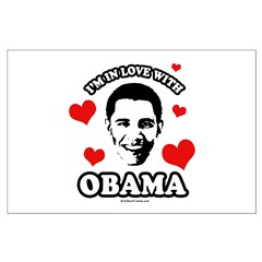 I've got a crush on Obama Posters