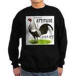 It's About Attitude Sweatshirt (dark)