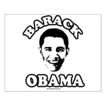 Barack Obama face Small Poster