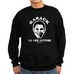 Barack to the future Sweatshirt (dark)