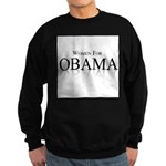 Women for Obama Sweatshirt (dark)