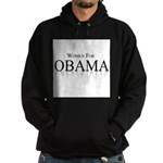 Women for Obama Hoodie (dark)