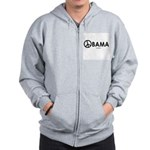 Obama 2008 for Peace Zip Hoodie