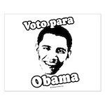 Voto para Obama Small Poster