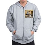 Domestic Flights Three Zip Hoodie