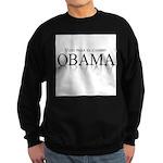 Voto para el cambio: Obama Sweatshirt (dark)