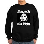 Barack the vote Sweatshirt (dark)