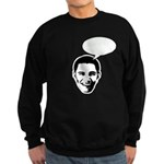 Obama (write in message) Sweatshirt (dark)