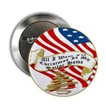 "All I Want For Christmas 2.25"" Button (10 pac"