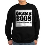 Barack Obama Sweatshirt (dark)