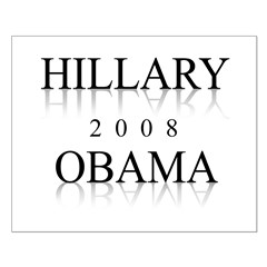 Hillary Obama 2008 Posters