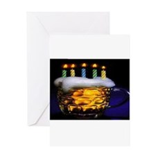 Unique Brewing Greeting Card