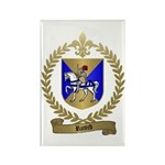 RICORD family Crest Rectangle Magnet (10 pack)
