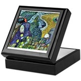 Memory of the Garden at Etten Keepsake Box