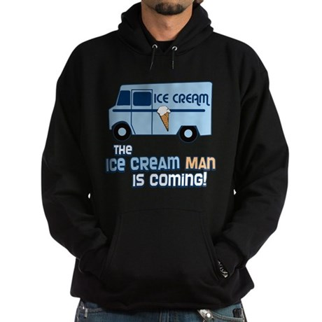 Ice Cream Man Dark Hoodie