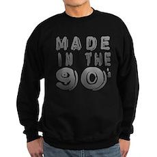 Made in the 90's Dark Sweatshirt