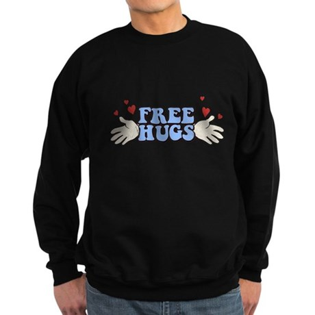 Free Hugs Dark Sweatshirt